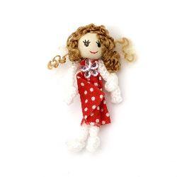Кукли текстил с обли главички -10 броя