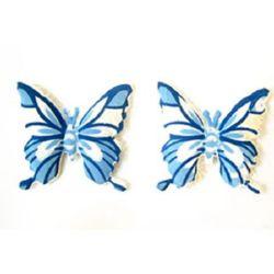 Пеперуда синя 4 мм -10 броя
