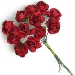 Paper roses bouquet decoration 20 mm