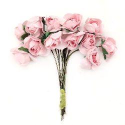 Τριαντάφυλλα 20x80 mm ροζ 6-12 κομμάτια
