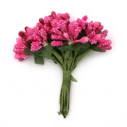 Paper flowers bouquet decoration 80 mm