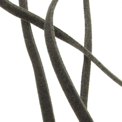 Faux suede jewellery elastics 2.5 mm