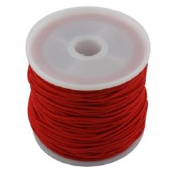 Elastic Cord 1 mm red ~ 19 meters