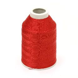Polyester Thread  -100 grams color Red