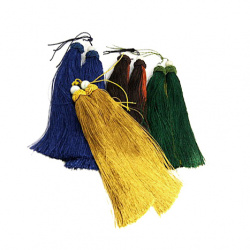 Textile tassel for decoration 190 mm MIX