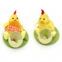 Easter Chicken figurine 90x90 mm for MIX decoration