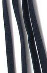 Лента велур 5 мм синя тъмно -10 броя x 1 метър