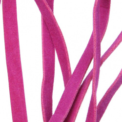 Faux suede jewellery elastics 5 mm