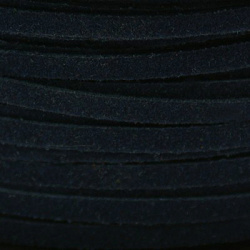 Suede jewellery cord 2.5 mm - 50 m