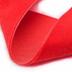 Panglică de catifea 1 mm roșu -3 metri
