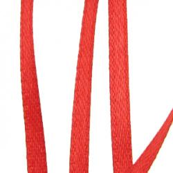 Ширит Сатен 3 мм червен -10 метра