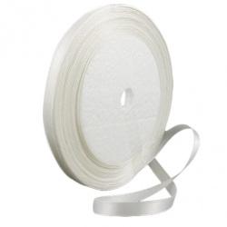 Ширит cатен 6 мм бял ~22 метра