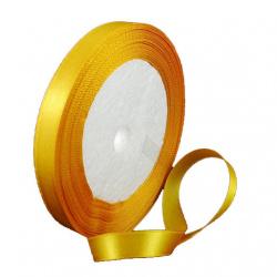 Ширит сатен 10 мм оранжев светло ~22 метра