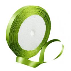 Ширит сатен 10 мм зелен -22 метра