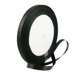 Ширит сатен 20 мм черна ~22 метра