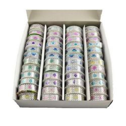 Tape 20 mm self-adhesive color ASSORTED - 50 cm