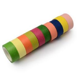 Craft paper tape 15 mm MIX
