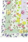 Țesătură A4 (21x29,7 cm) flori cu imprimeu autoadeziv culori ASSORTE