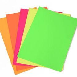 Adhesive paper A4 21x29.7 cm MIX
