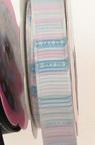 Лента сатен 11 мм рипс асорте цветове -2 метра