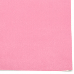 Self-adhesive Velor 19x27 cm pink color