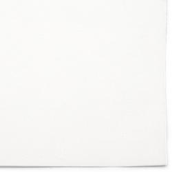 Велур 19x27 см самозалепващ цвят бял