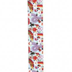 Banda de poliester 25 mm culoare velur -3 metri