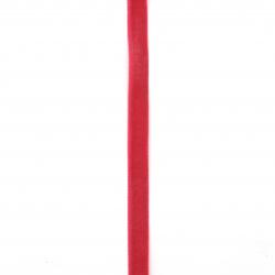 Лента кадифе 10 мм циклама -3 метра
