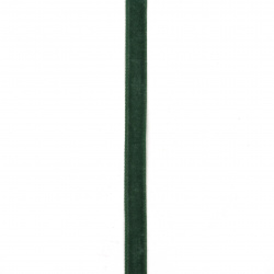 Лента кадифе 10 мм зелена тъмна -3 метра