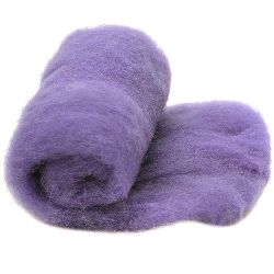 Wool felt merino for non-wovens, for making clothes, jewelry and accessories m 700x600 mm extra quality purple -50 grams