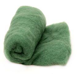 ВЪЛНА 100 процента Филц 700x600 мм зелена -50 грама