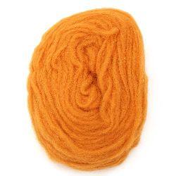 Прежда ЖИВА ВЪЛНА оранжева -25 грама