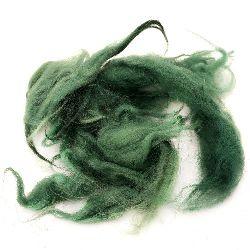 ВЪЛНА естествени кичури зелени