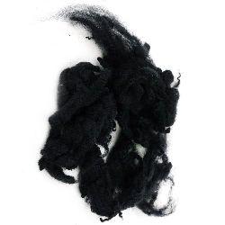 ВЪЛНА естествени кичури черни