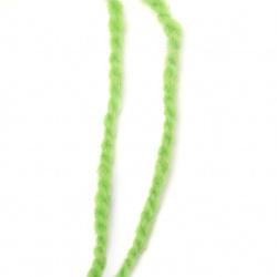 Прежда вълна два ката зелена -100 грама