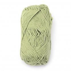 Прежда COTTON PASSION 100 % памук цвят резеда 50 грама -85 метра