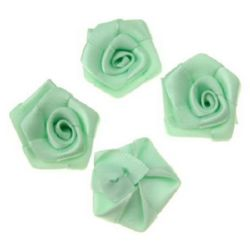 Rose 25 mm green light -10 pieces