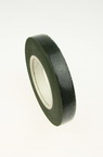 Crepe floral tape for wrapping flower branches 13 mm green dark ~ 28 meters