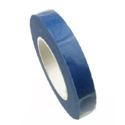 Floral tape from crepe for bouquet making and decoration 13 mm blue ~ 28 meters