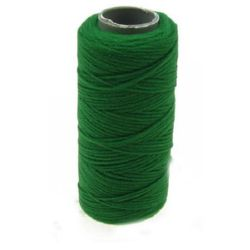 Polyester thread 0.2 ± 0.4 mm green pulley ± 5 grams
