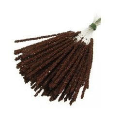 Styrofoam Balls Branch for Decoration 3.5x83x153 mm brown ± 100 pc
