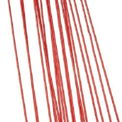 Floral wire 0.9 mm ~82 cm red - 20 pieces