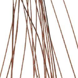 Тел цветарска 0.9 мм ~82 см кафява -20 броя
