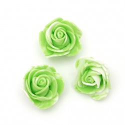 Culoare trandafir 35 mm culoare cauciuc alb alb -10 bucăți