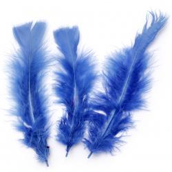 Φτερό 120 ~ 170x35 ~ 40 mm μπλε σκούρο -10 κομμάτια