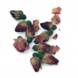 Natural dry rose buds 20 ~ 30 mm -10 grams