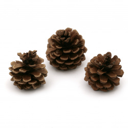 Decoration cones 35~38x55~50 mm - 10 pieces