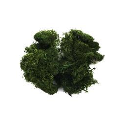 Mușchi polar scandinav verde-închis -10 grame