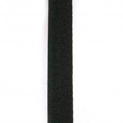 Велкро 2 см цвят черен -1 метър