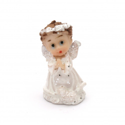 Figurine polyresin angel 30x16 mm modele ASSORTED